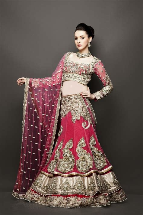 Exclusive Handcrafted Bridal and Wedding Lehengas 2014