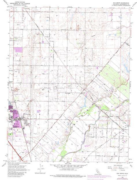 california map elk grove elk grove topographic map ca usgs topo 38121d3