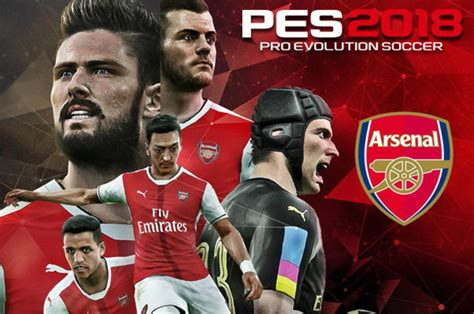 arsenal pes 2018 pes 2018 leak reveals incredible news for arsenal fans