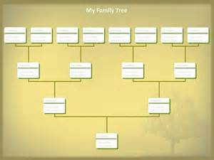 Editable Family Tree Templates Free by Fill Blank Family Tree Template On Blankfamily Tree