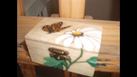 como pintar y decorar una caja de madera como decorar una caja de madera ideas para decorar con