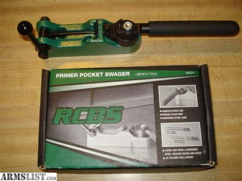 rcbs bench mounted primer pocket swager armslist for sale rcbs bench mounted primer pocket