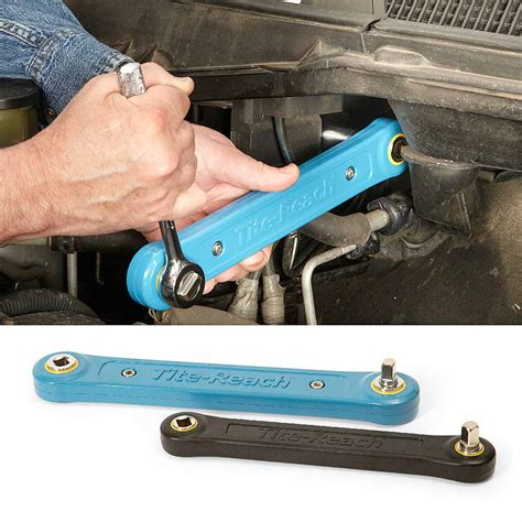 auto forwarding tool reach into tight places with a ratchet extender tools