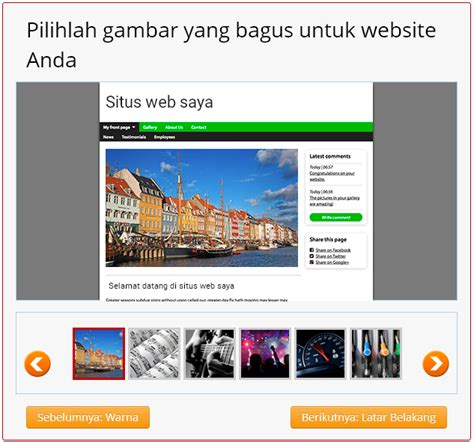 membuat website simple cara membuat website gratis cepat di simple site mari
