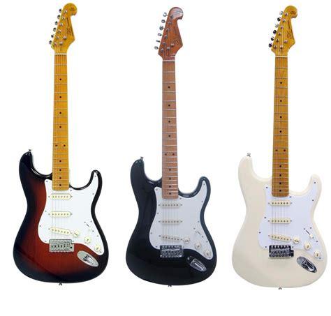 imagenes guitarras vintage guitarra strato sx sst57 vintage escala maple bag top