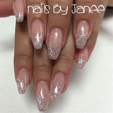 Glitter Nagels by Glitter Pink Ballerina Nails By Janee Nails