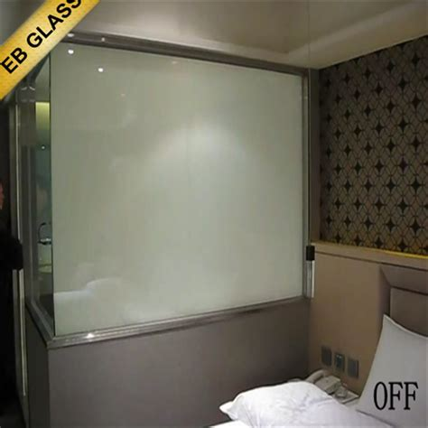 Smart Glass Shower Door Clear Smart Glass Shower Door High Quality Switchable Electrostatic Lamianted Magic Glass