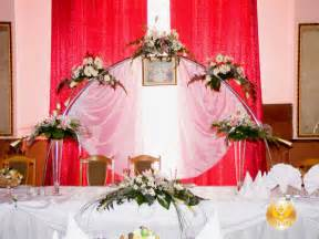 Flower decorations for weddings