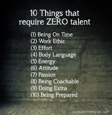 Ten Things That Are For You by 10 Things That Require Zero Talent