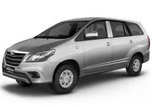 Toyota Innova Silver Metallic Toyota Innova 2 5 Ev Diesel Ps 8 Seater Bsiii Colors