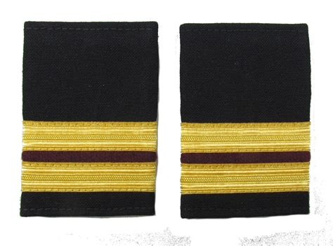 X Maroon 1 epaulette 2 x 1 2 gold with 1x1 4inch maroon size