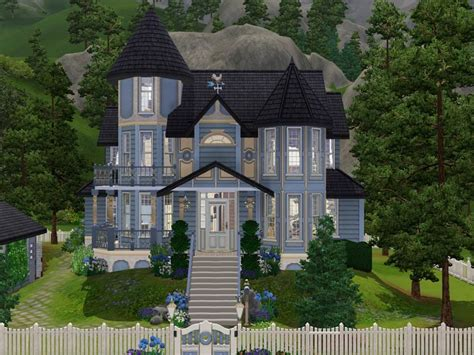 Modern Victorian Homes Interior Mod The Sims Hummingbird Lane Victorian No Cc