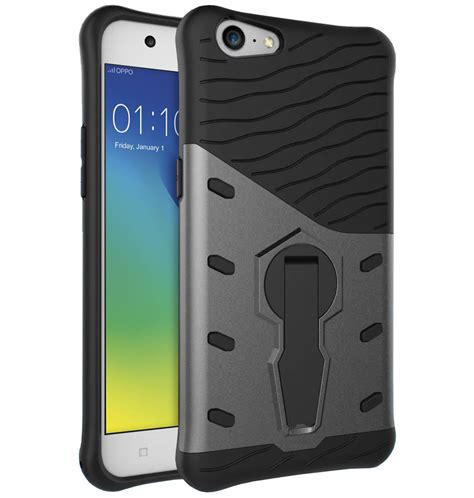 Oppo A57 Hardcase Oppo A57 Slim Shield Tough Shockproof Oppo A57 Grey