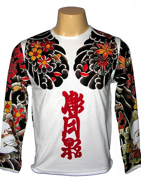 japanese tattoo t shirt design