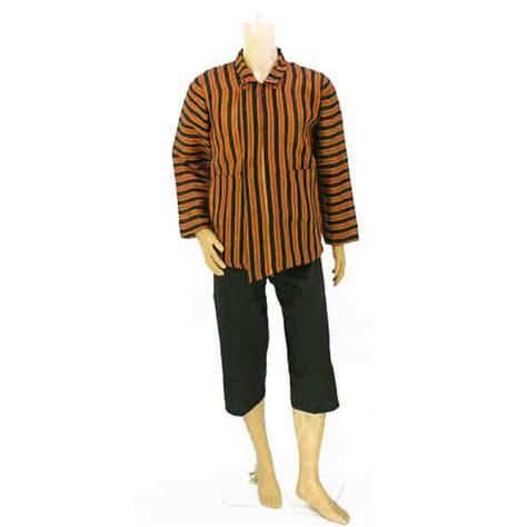 Stelan Baju Dan Celana 24 setelan baju surjan dan celana pendek pusaka dunia