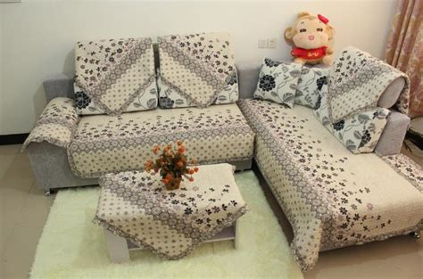Patchwork Sofa Cover - aliexpress buy 100 cotton thickening patchwork