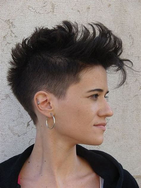 Womens Mohawk Hairstyles by Mohawk Hairstyles For