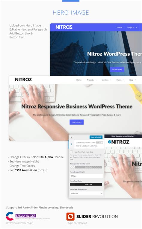 themeforest navbar nitroz responsive business theme by selthemes themeforest