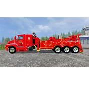 Kenworth T600B Tow Truck For Farming Simulator 2015