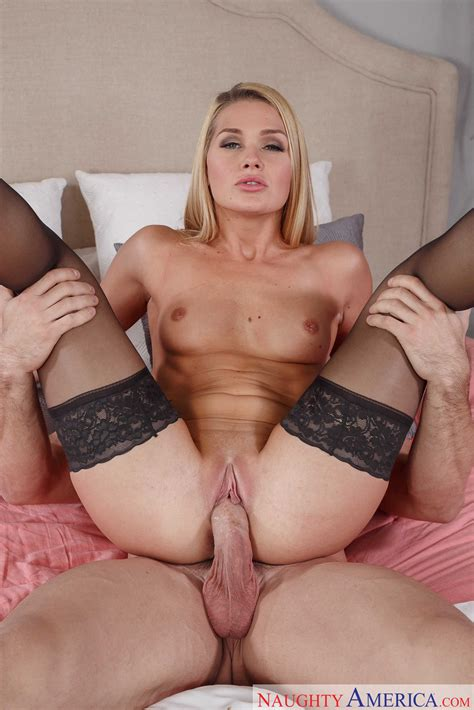 Brunette Abby Cross Fucking In Black Stockings Milf Fox