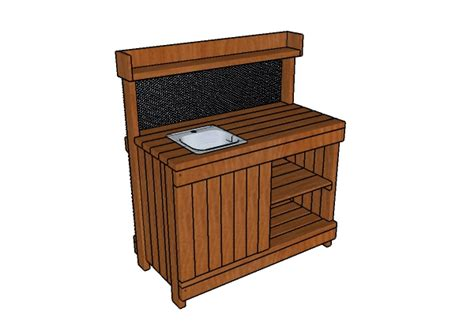 potting bench with sink potting bench with sink plans myoutdoorplans free