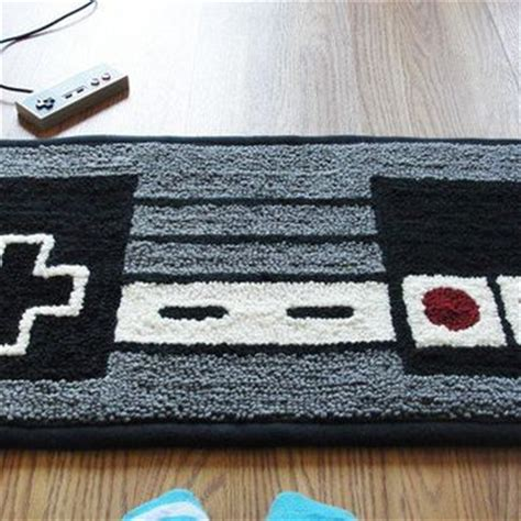 nintendo controller rug nes nintendo controller rug from wtcrafts on etsy future