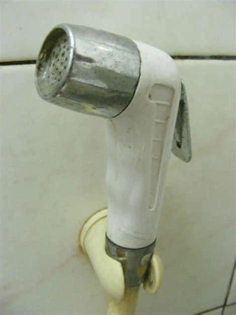 potty spray the toilet spray nozzle argument
