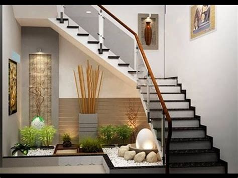 under the stairs design idea www buildmyart com awesome indoor garden ideas with lovely stairs youtube