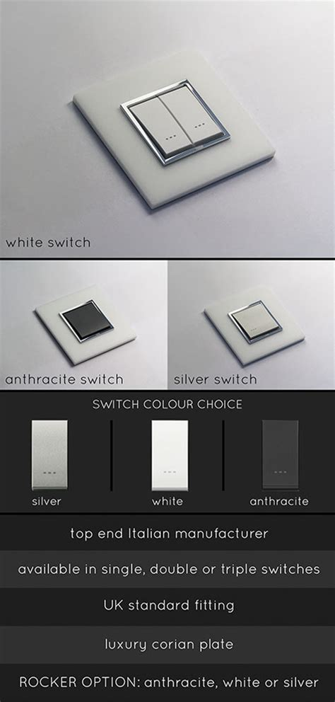 corian light luxury light switch light switches electrical fittings