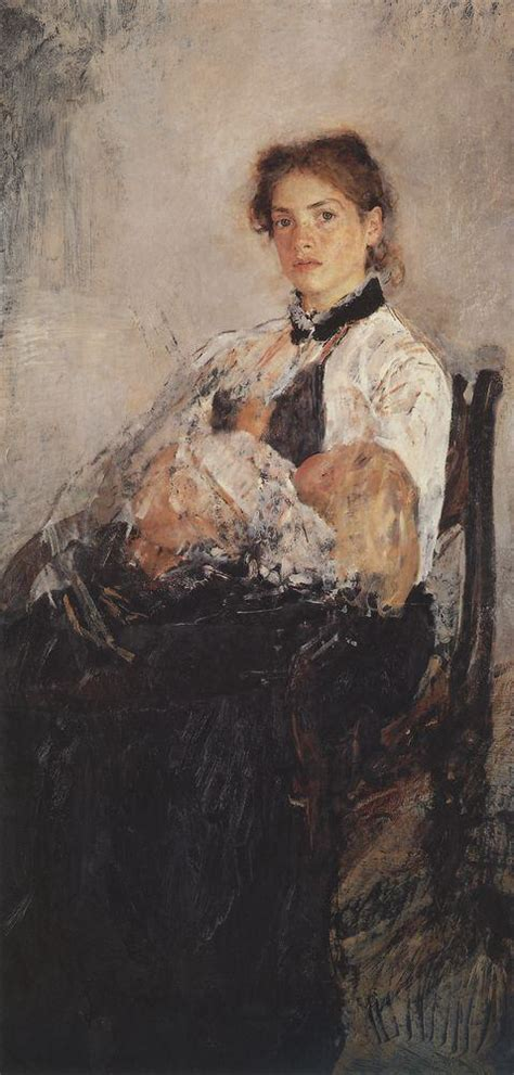 serov valentin and child on cassatt mothers and