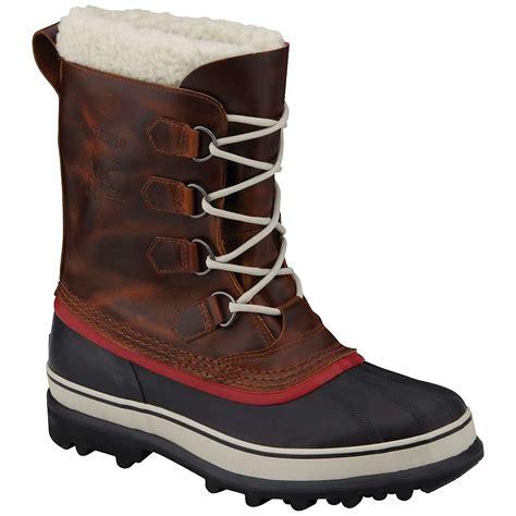 sorel mens boots sorel s caribou wool boot at moosejaw