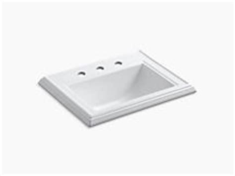 Drop In Bathroom Sinks Bathroom Kohler Kohler Archer Undermount Sink Template