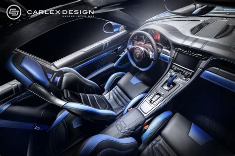 porsche electric interior porsche 911 by carlex designtuningcult