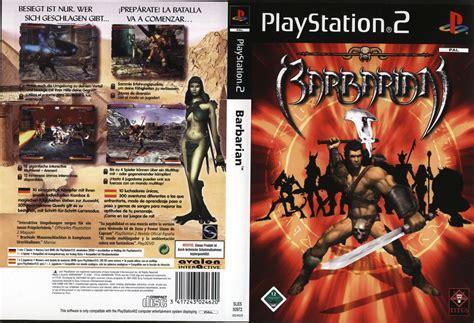 game ps2 format iso gratis barbarian europe en fr de es it iso