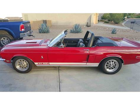 mustang shelby for sale 1968 ford mustang shelby gt500 for sale classiccars