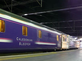 Caledonian Sleeper To Edinburgh by Caledonian Sleeper