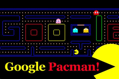 doodle pacman pacman anniversary image search results