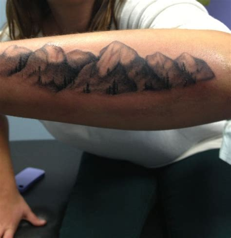 mountian tattoo mountain tattoos