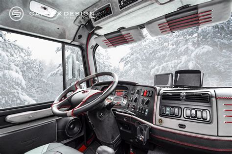 mercedes zetros 6x6 gets opulent interior from carlex