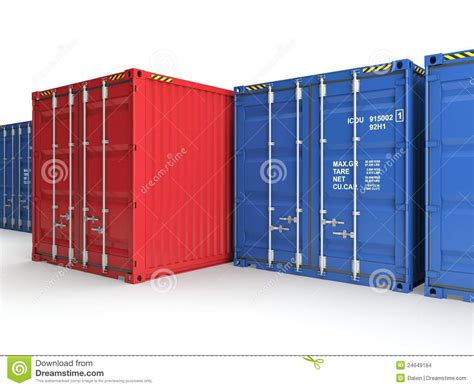Cargo Shipping Management System Abstract Freight Container Stock Images Image 24649184