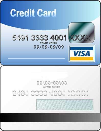 Credit Card Printing Template credit card id card