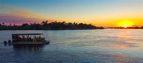 boat cruise zambezi river victoria falls jetboat gently cruise the zambezi river