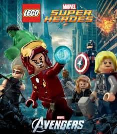 bricks lego announce marvel super heroes video game