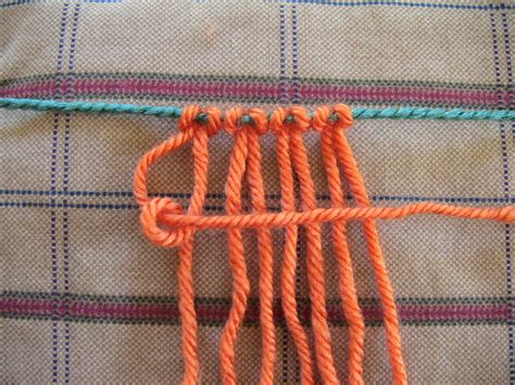 Different Hemp Knots - different macrame knots macrame knots