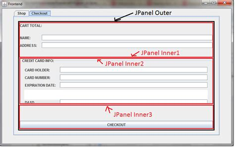 gridlayout javadoc java how do you stretch a jpanel within a jpanel