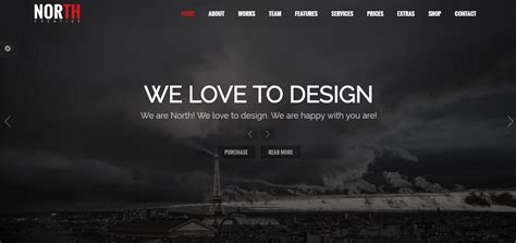 themeforest north theme best one page wordpress themes reviews free paid