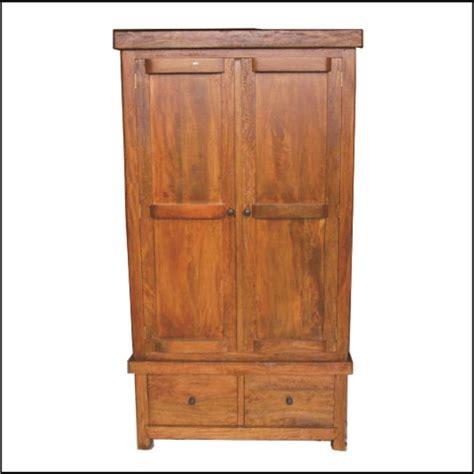 Lemari Kayu Solid jual lemari pakaian kayu mangga solid harga murah semarang