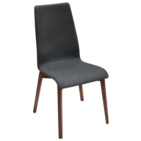 Dining Chairs Walnut Walnut Upholstered Brandi Dining Chair Set Of 2 Zuri Furniture