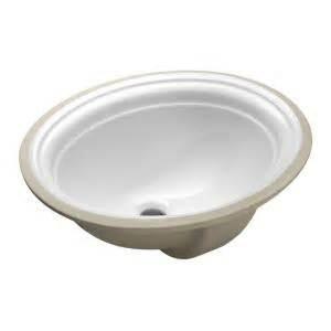 kohler devonshire undermount bathroom sink in white k 2350