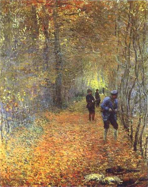 55 best images about painting quot the hunt quot by claude monet 1840 1926